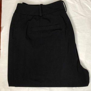 """Worthington black """"Curve Fit"""" stretch strait pants"""